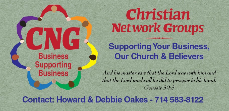 Christian Network Groups monthly meetings